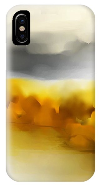 Autumn Along The River IPhone Case