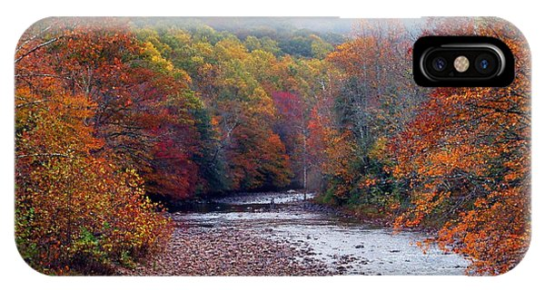 Autumn Along Williams River IPhone Case