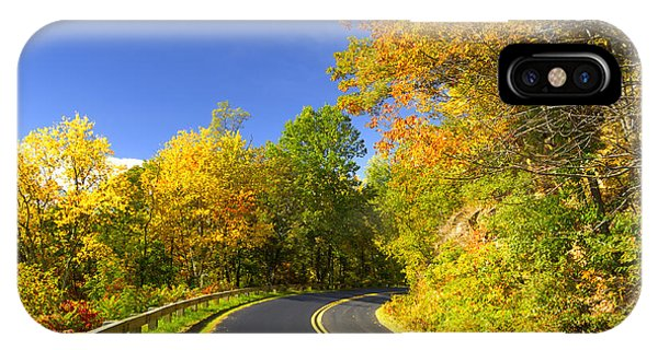 Autumn Appalachian Drive Phone Case by Darrell Young