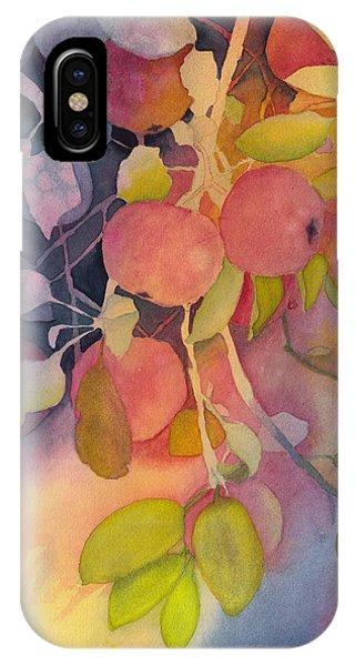 Autumn Apples Full Painting IPhone Case