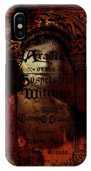 Autumn Aradia Witches Gospel IPhone Case
