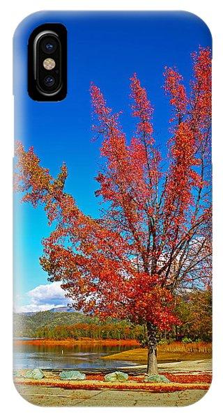 Water Ski iPhone Case - Autumn At Brandy Creek by Joyce Dickens