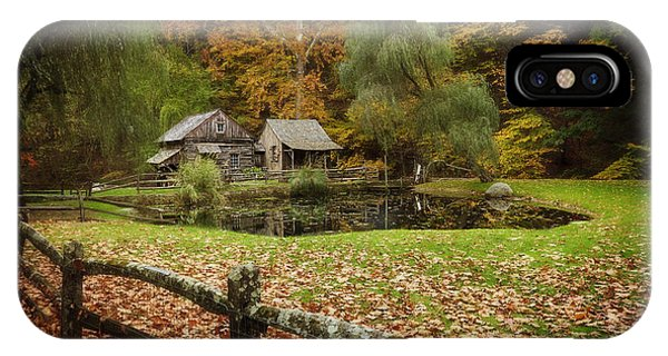 Autumn At Cuttalossa Farm V IPhone Case