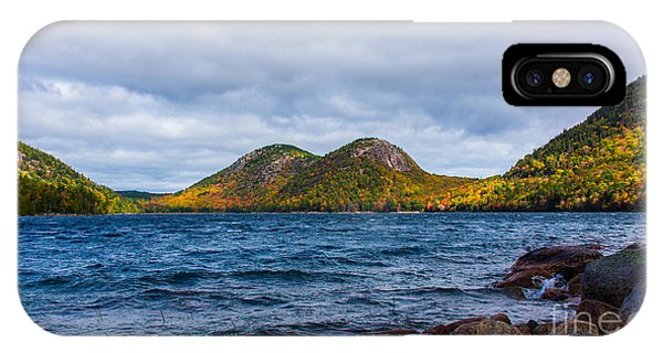 Autumn At Jordan Pond IPhone Case