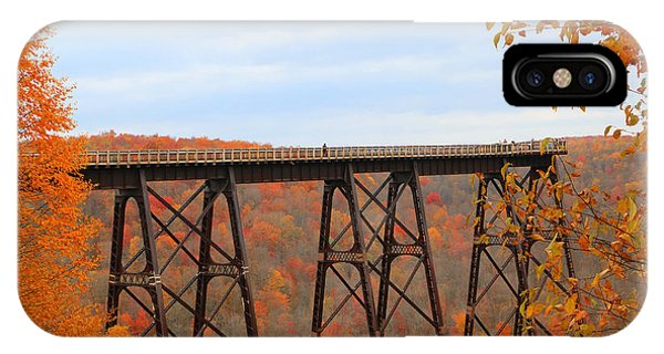 Autumn At Kinzua Bridge IPhone Case