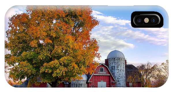 Autumn At Lusscroft Farm IPhone Case