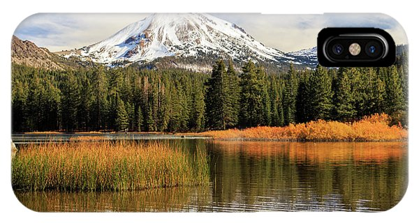 Autumn At Mount Lassen IPhone Case