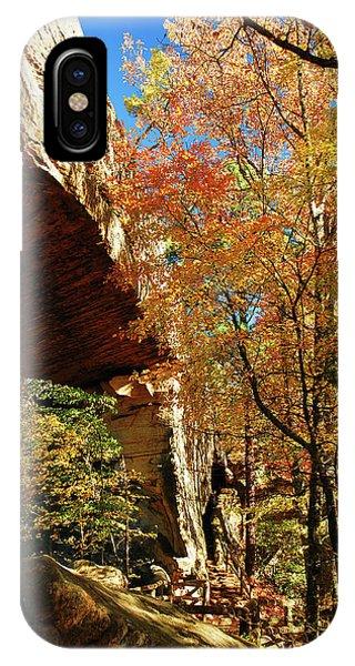 Autumn At Natural Bridge State Resort IPhone Case
