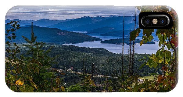 Autumn At Priest Lake IPhone Case
