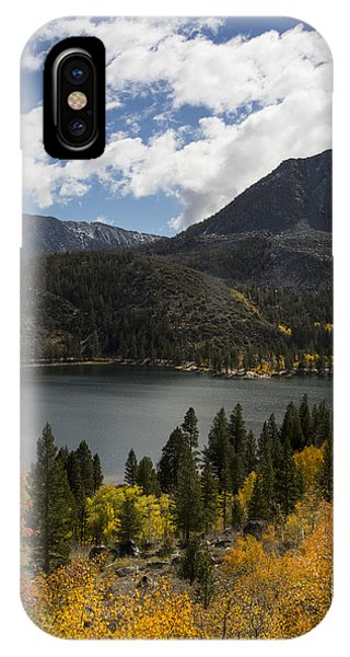 Autumn At Rock Creek Lake 2 IPhone Case