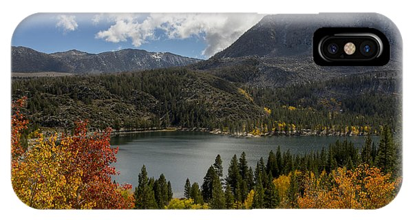 Autumn At Rock Creek Lake IPhone Case