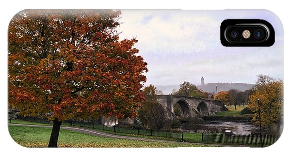 Autumn At Stirling Bridge IPhone Case