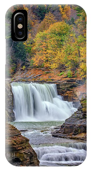 Autumn At The Lower Falls IPhone Case