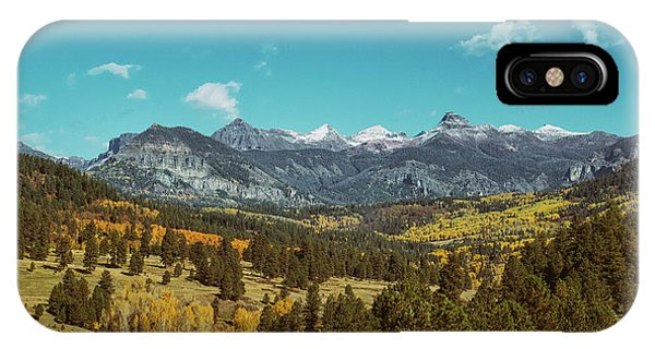 IPhone Case featuring the photograph Autumn At The Weminuche Bells by Jason Coward