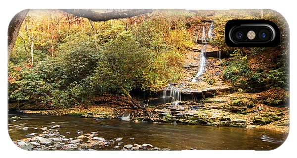 Autumn At Tom Branch Falls  IPhone Case