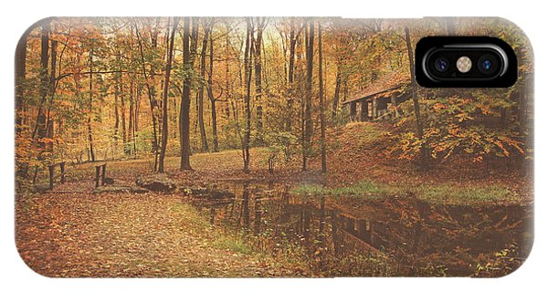 Autumn At Voorhees Matte IPhone Case