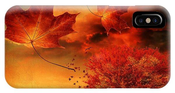 Autumn Blaze IPhone Case