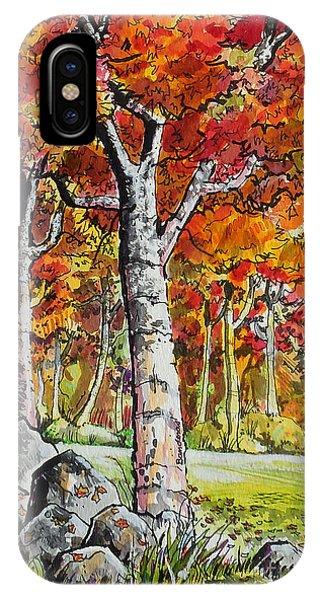 Autumn Bloom IPhone Case
