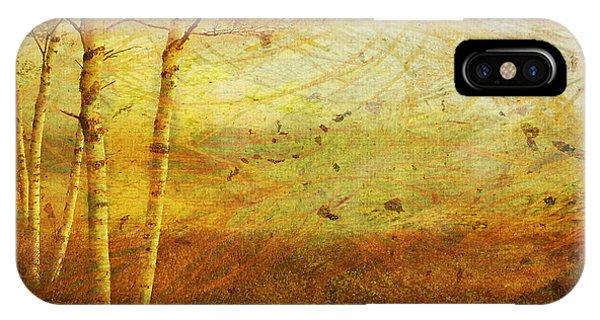 Autumn Breeze IPhone Case