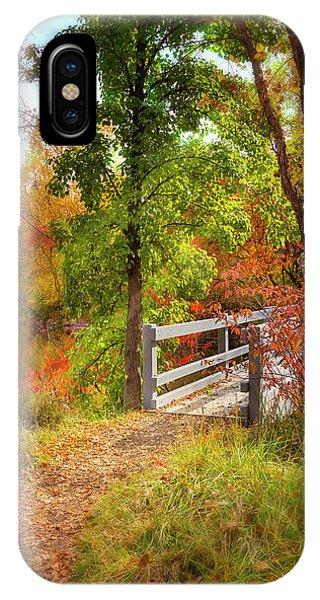 Autumn Bridge IPhone Case