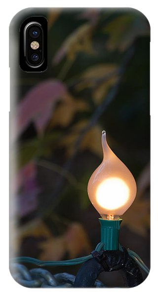 Autumn Bulb IPhone Case