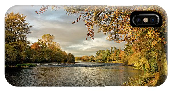 Autumn By The River Ness IPhone Case