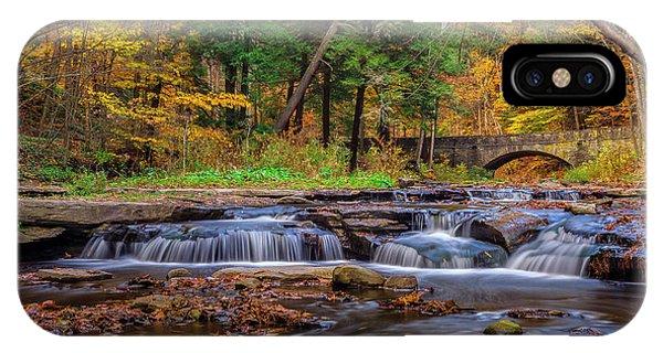 Autumn Cascades IPhone Case