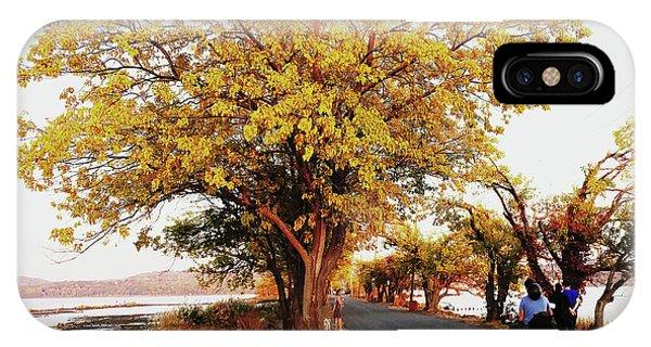 Autumn Causeway IPhone Case