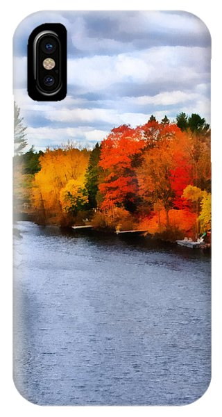 Autumn Channel IPhone Case