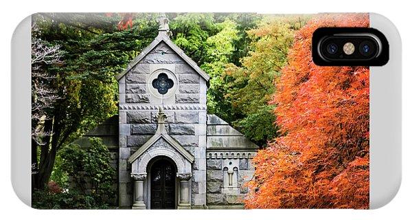Autumn Chapel IPhone Case