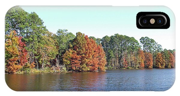 Autumn Color At Ratcliff Lake IPhone Case