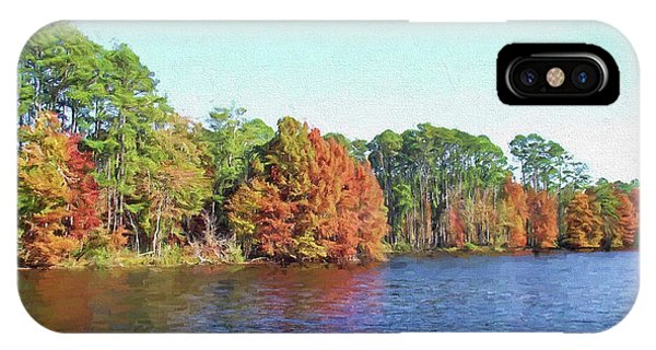 Autumn Color At Ratcliffe Lake IPhone Case