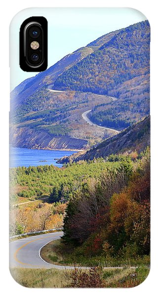 Autumn Color On The Cabot Trail, Cape Breton, Canada IPhone Case