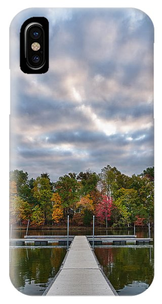 Autumn Colors At The Lake IPhone Case