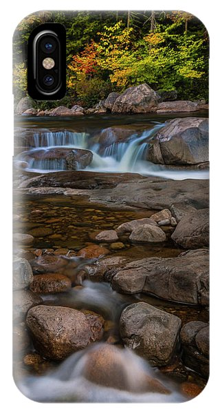 Autumn Colors In White Mountains New Hampshire IPhone Case