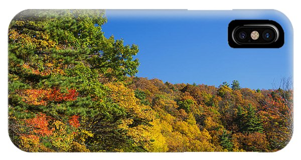 Autumn Country Roads Blue Ridge Parkway IPhone Case