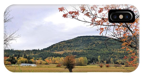 Autumn Country View IPhone Case