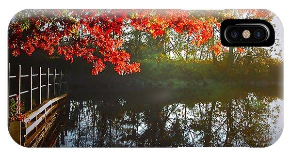 Autumn Creek Magic IPhone Case