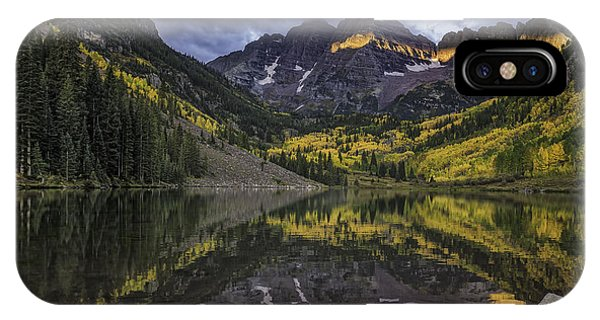 IPhone Case featuring the photograph Autumn Dawn by Bitter Buffalo Photography