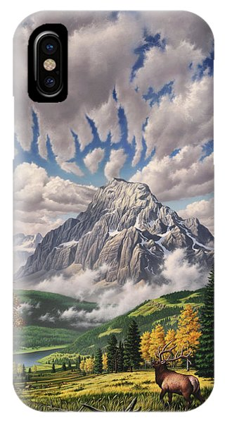 Autumn Echos IPhone Case