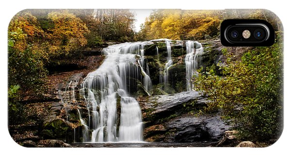 IPhone Case featuring the photograph Autumn Fall by Chrystal Mimbs