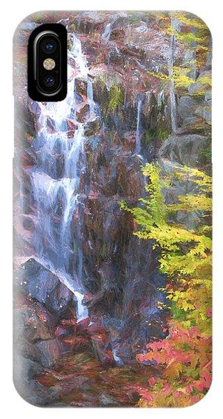 Autumn Falls Away II Phone Case by Jon Glaser