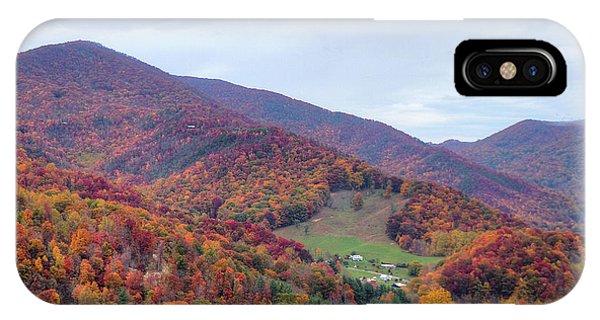 Autumn Farm IPhone Case