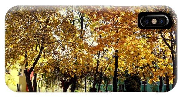Autumn Festival Of Colors IPhone Case