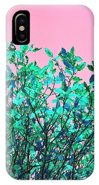 Autumn Flames - Pink IPhone Case
