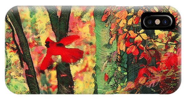 Autumn Flight IPhone Case