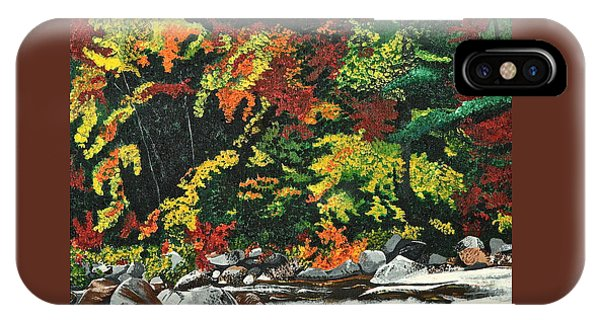 Autumn Frost IPhone Case