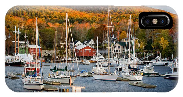 New England Fall Foliage iPhone Case - Autumn Gold by Susan Cole Kelly