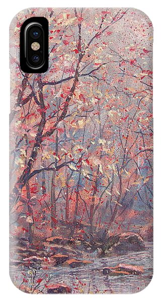 Autumn Harmony. IPhone Case