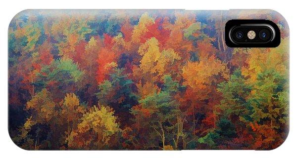 Autumn Hill Aglow IPhone Case